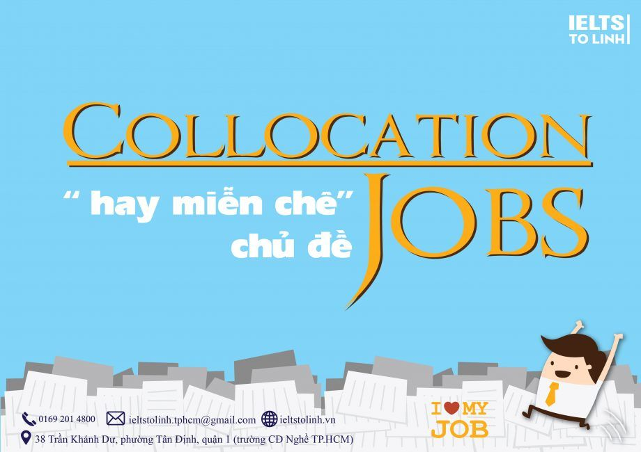 IELTS vocabulary - Collocation Job