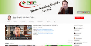 Learning English with Steve Ford