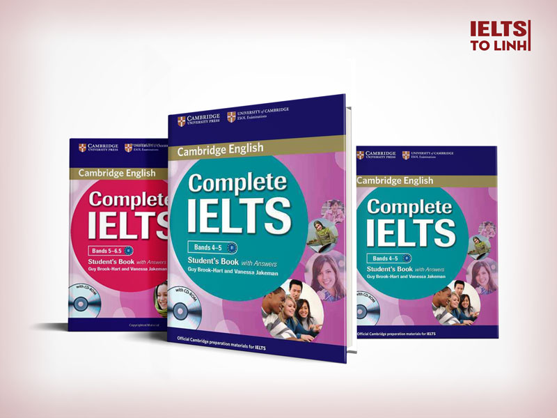 Trọn bộ Complete IELTS Level 4.0 – 7.5 IELTS ( Full PDF + AUDIO bản đẹp + Keys Answer)